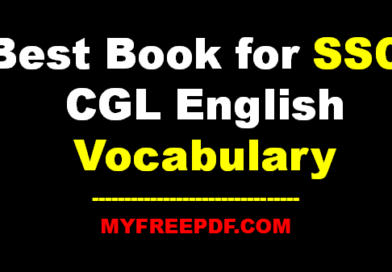 Best Book for SSC CGL English Vocabulary