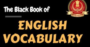 Best Book for SSC CGL English Vocabulary |