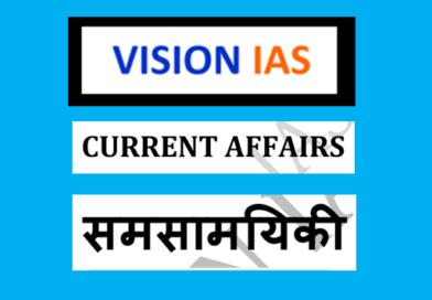 vision ias current affairs notes pdf